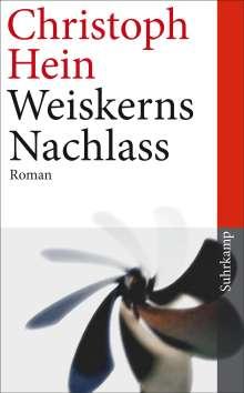 Christoph Hein: Weiskerns Nachlass, Buch