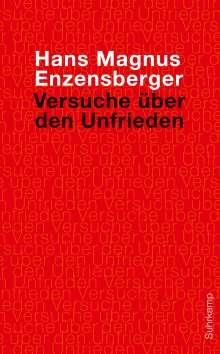 Hans Magnus Enzensberger: Versuche über den Unfrieden, Buch