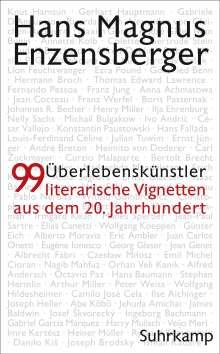 Hans Magnus Enzensberger: Überlebenskünstler, Buch