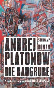 Andrej Platonow: Die Baugrube, Buch
