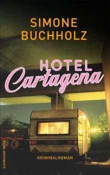 Simone Buchholz: Hotel Cartagena, Buch