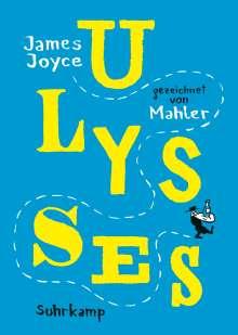 Nicolas Mahler: Ulysses, Buch