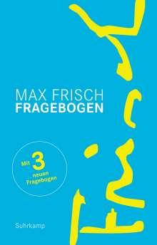 Max Frisch: Fragebogen, Buch