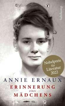 Annie Ernaux: Erinnerung eines Mädchens, Buch