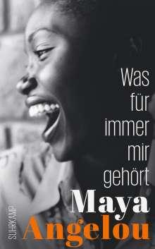 Maya Angelou: Was für immer mir gehört, Buch