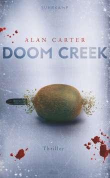 Alan Carter: Doom Creek, Buch