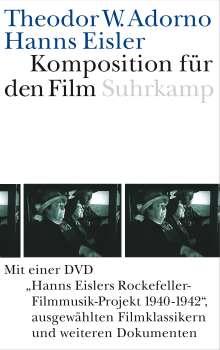 Theodor W. Adorno: Komposition für den Film. Mit DVD, Buch