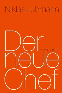 Niklas Luhmann: Der neue Chef, Buch
