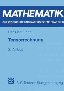 Hans Karl Iben: Tensorrechnung, Buch