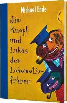 Michael Ende: Jim Knopf: Jim Knopf und Lukas der Lokomotivführer, Buch