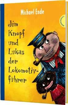 Michael Ende: Jim Knopf und Lukas der Lokomotivführer.  Kolorierte Neuausgabe, Buch