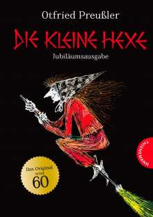 Otfried Preußler: Die kleine Hexe. Jubiläumsausgabe, Buch