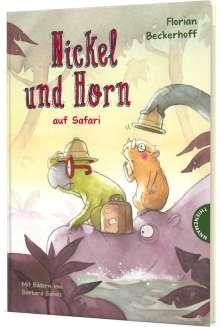 Florian Beckerhoff: Nickel und Horn 3: Nickel und Horn auf Safari, Buch