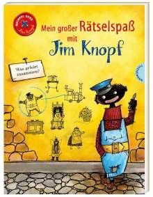 Michael Ende: Mein großer Rätselspaß mit Jim Knopf, Buch