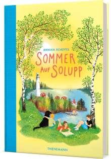 Annika Scheffel: Sommer auf Solupp, Buch