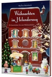 Martina Baumbach: Weihnachten im Holunderweg, 24 Geschichten bis zum Weihnachtsfest, Buch
