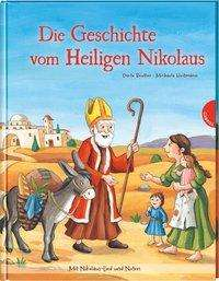 Dörte Beutler: Die Geschichte vom Heiligen Nikolaus, Buch