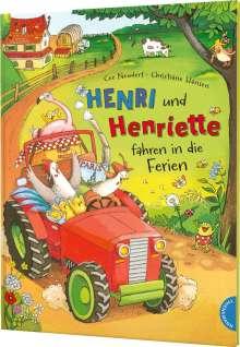 Cee Neudert: Henri und Henriette: Henri und Henriette fahren in die Ferien, Buch