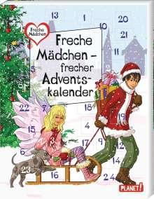 Sabine Both: Freche Mädchen - frecher Adventskalender, Buch