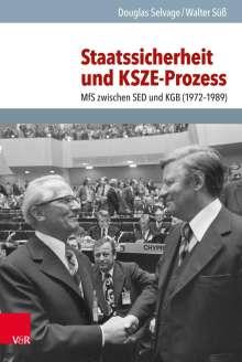 Walter Süß: Staatssicherheit und KSZE-Prozess, Buch