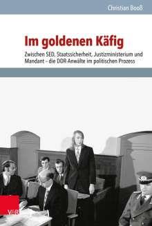 Christian Booß: Im goldenen Käfig, Buch