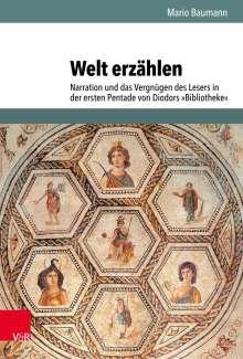 Mario Baumann: Welt erzählen, Buch