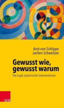 Arist von Schlippe: Gewusst wie, gewusst warum: Die Logik systemischer Interventionen, Buch