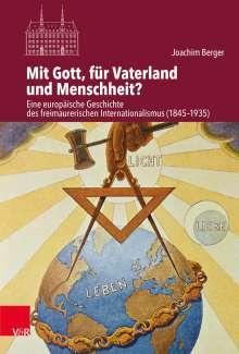 Joachim Berger: Mit Gott, für Vaterland und Menschheit?, Buch