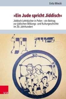 Evita Wiecki: »Ein Jude spricht Jiddisch«, Buch