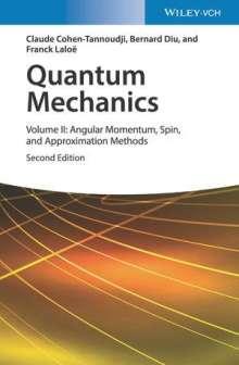 Claude Cohen-Tannoudji: Quantum Mechanics 2, Buch