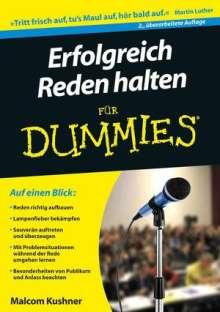 Malcolm Kushner: Erfolgreich Reden halten für Dummies, Buch