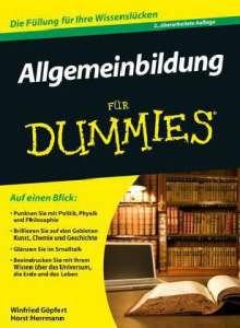 Winfried Göpfert: Allgemeinbildung für Dummies, Buch
