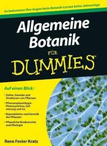 Rene Fester Kratz: Allgemeine Botanik für Dummies, Buch