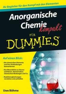 Uwe Böhme: Anorganische Chemie kompakt für Dummies, Buch