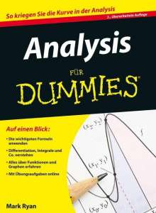 Mark Ryan: Analysis für Dummies, Buch