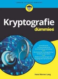 Hans Werner Lang: Kryptografie für Dummies, Buch