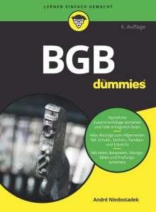 André Niedostadek: BGB für Dummies, Buch