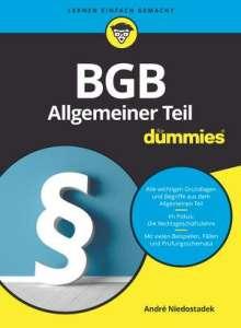 André Niedostadek: BGB Allgemeiner Teil für Dummies, Buch