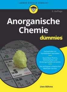 Uwe Böhme: Anorganische Chemie für Dummies, Buch