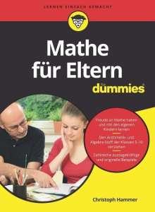Christoph Hammer: Mathe für Eltern für Dummies, Buch