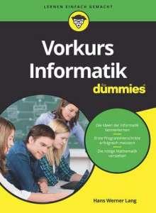Hans Werner Lang: Vorkurs Informatik für Dummies, Buch