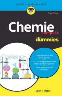 John T. Moore: Chemie kompakt für Dummies, Buch
