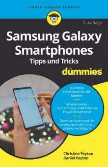Christine Peyton: Samsung Galaxy Smartphones Tipps und Tricks für Dummies, Buch