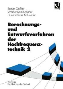 Rainer Geißler: Berechnungs- und Entwurfsverfahren der Hochfrequenztechnik, Buch