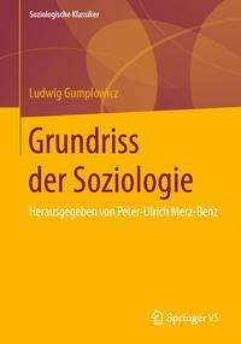 Ludwig Gumplowicz: Grundriss der Soziologie, Buch
