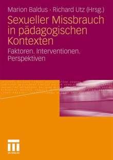 Sexueller Missbrauch in pädagogischen Kontexten, Buch