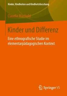 Claudia Machold: Kinder und Differenz, Buch