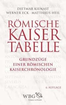 Dietmar Kienast: Römische Kaisertabelle, Buch