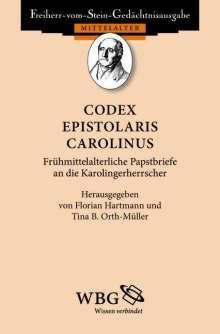 Codex epistolaris Carolinus, Buch