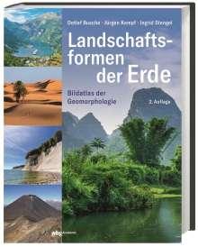 Detlef Busche: Landschaftsformen der Erde, Buch